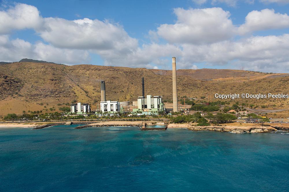 Hawaiian Electric; Heco, Kahe Power, Oahu; Hawaii; aerial