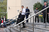 Henrikh Mkhitaryan Midfielder of Manchester United departs the Lowry hotel before the Manchester United vs Celta Vigo match  at Old Trafford, Manchester, United Kingdom on 11 May 2017. Photo by Phil Duncan.