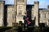 Ryan Giggs , the new Wales manager outside Hensol Castle. Press conference announcing Ryan Giggs as the new manager of the Wales football team at Hensol Castle in Hensol, near Cardiff , South Wales on Monday 15th January 2018 .  pic by Andrew Orchard/Andrew Orchard sports photography