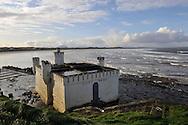 Bathhouse on the Sligo Bay on November 29, 2011 in Sligo, Ireland.