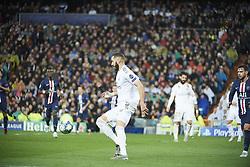 November 26, 2019, Madrid, Madrid, Spain: Karim Benzema (forward; Real Madrid) in action during the UEFA Champions League match between Real Madrid and Paris Saint-Germain at Santiago Bernabeu Stadium on November 26, 2019 in Madrid, Spain (Credit Image: © Jack Abuin/ZUMA Wire)