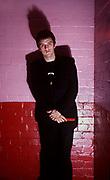 Kosmo Vinyl managing The Clash backstage at London's Rainbow Theatre