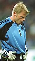 Fotball: Tyskland-England 1-5. München. 01.09.01<br /><br />KAHN, Oliver   <br />           WM-Quali   Deutschland - England  1:5