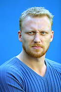 Scottish actor Kevin McKidd pictured before a press conference to discuss his latest film entitled '16 Years of Alcohol' which is showing as part of the Edinburgh International Film Festival....
