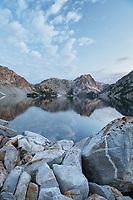 Sawtooth Lake. Sawtooth Mountains Wilderness Idaho