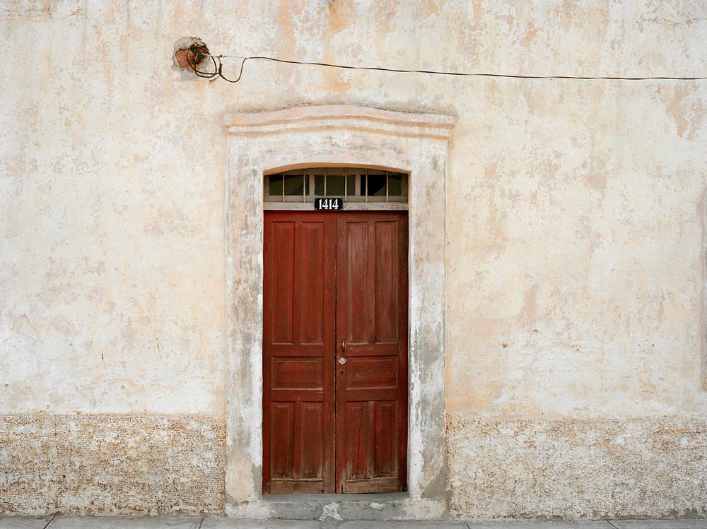White Wall & Door