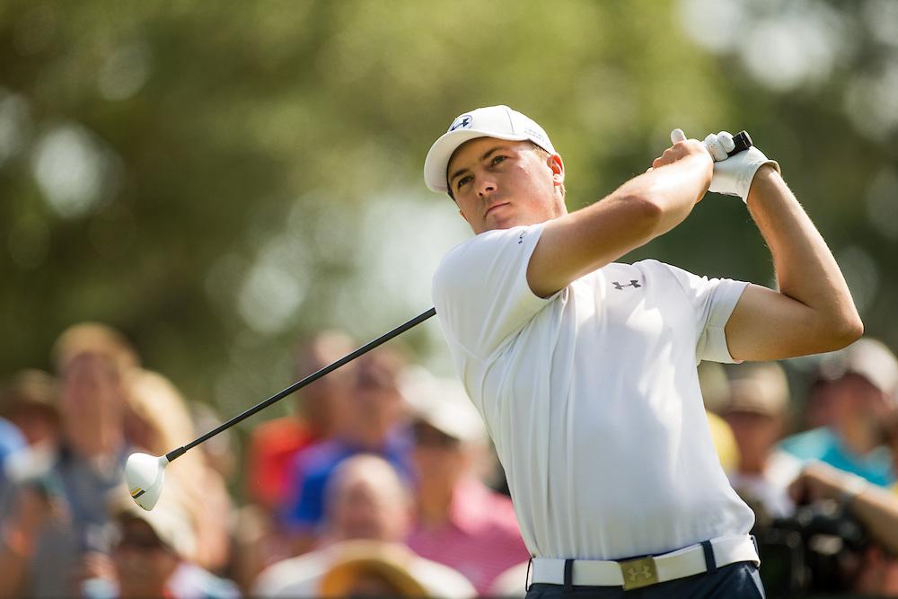 Jordan Spieth. PGA Golf: 2014 The Players Championship<br /> Friday round 2<br /> TPC Sawgrass/Ponte Vedra, FL<br /> 5/9/2014<br /> X158187 TK2<br /> Credit: Darren Carroll