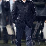 Besiktas's coach Samet Aybaba during their Turkish superleague soccer match Besiktas between Kasimpasa at the BJK Inonu Stadium in Istanbul Turkey on Saturday, 16 March 2013. Photo by Aykut AKICI/TURKPIX