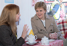 Nicola Sturgeon takes tea | Portobello | 27 April 2016