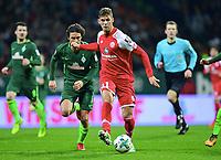 v.l. Thomas Delaney, Emil Berggreen (Mainz)<br /> Bremen, 16.12.2017, Fussball Bundesliga, SV Werder Bremen - 1. FSV Mainz 05<br /> Norway only