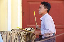 Playing Music, Shwezigon Pagoda