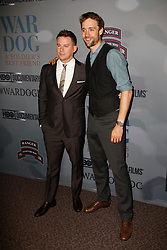 Executive producers Channing Tatum and Ried Carolin attend the HBO Premiere of 'War Dog: A Soldier's Best Friend' at The Directors Guild of America on November 6, 2017 in Los Angeles, California. (Photo by CraSH/imageSPACE)