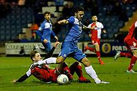 Rhys Turner. Stockport County FC 3-0 Kidderminster Harriers FC, 16.1.18. Buildbase FA Trophy