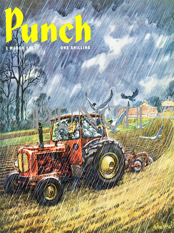 Punch (Front cover, 6 March 1963)