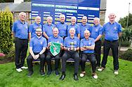 Limerick Golf Club Team Back (LtoR)Hugh Conlon, Paul Byrne, Edgar Ahern, Pat Lee, Ger Naughton, Maurice Hickey, Eamon Grimes,  Michael Ahern,  <br /> Front (LtoR) Gavin Cross, team captain Brian Morris, Club captain Brien Morris, Gerard Gleeson after the All Ireland Four Ball Interclub Final, Roe Park resort, Limavady, Derry, Northern Ireland.15/09/2019.<br /> Picture Fran Caffrey / Golffile.ie<br /> <br /> All photo usage must carry mandatory copyright credit (© Golffile | Fran Caffrey)<br /> <br /> Team Details to Follow: