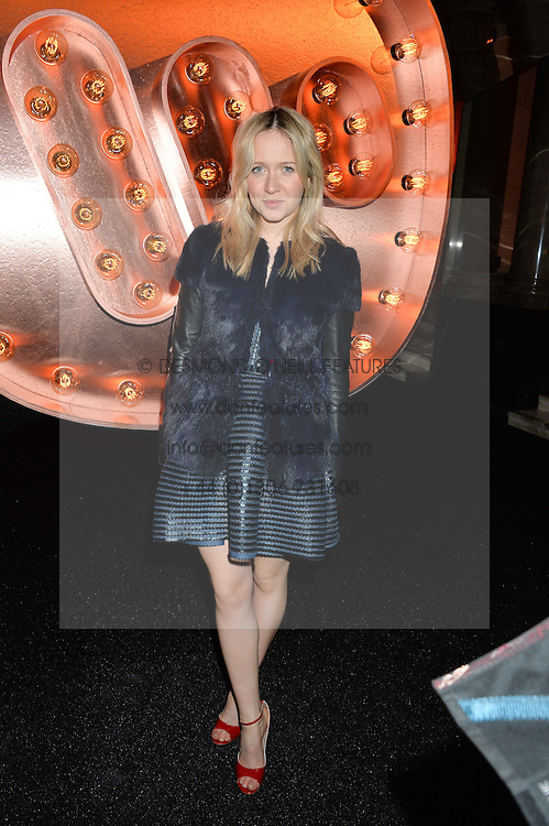 CAMILLA ELPHICK at the Warner Music Group & Ciroc Vodka Brit Awards After Party held at The Freemason's Hall, 60 Great Queen St, London on 24th February 2016.