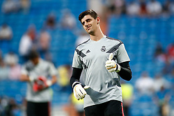 September 19, 2018 - Thibaut Courtois of Real Madrid during the Champions League football match between Real Madrid and AS Roma on September 19th, 2018 at Santiago Bernabeu stadium in Madrid, Spain. (Credit Image: © AFP7 via ZUMA Wire)
