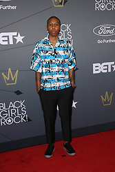 Lena Waithe at 'Black Girls Rock' in Newark New Jersey on August 26, 2018.