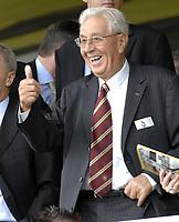 Photo: Richard Lane.<br />Watford v Aston Villa. The Barclays Premiership. 16/09/2006. <br />Outgoing Aston Villa Chaiman, Doug Ellis.