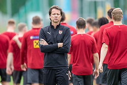 02.06.2018, Woerthersee Stadion, Klagenfurt, AUT, ÖFB Nationalteam, Training, im Bild ÖFB Sportdirektor Peter Schöttel // ÖFB sports director Peter Schoettel during a Trainingssession of Austrian National Footballteam at the Woerthersee Stadion in Klagenfurt, Austria on 2018/06/02. EXPA Pictures © 2019, PhotoCredit: EXPA/ Johann Groder