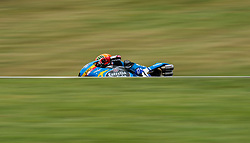 October 20, 2017 - Melbourne, Victoria, Australia - Spanish rider Aron Canet (#44) of Estrella Galicia 0,0 in action during the second free practice session at the 2017 Australian MotoGP at Phillip Island, Australia. (Credit Image: © Theo Karanikos via ZUMA Wire)