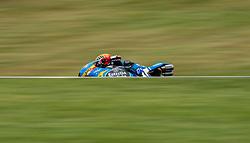 October 20, 2017 - Melbourne, Victoria, Australia - Spanish rider Aron Canet (#44) of Estrella Galicia 0,0 in action during the second free practice session at the 2017 Australian MotoGP at Phillip Island, Australia. (Credit Image: © Theo Karanikos via ZUMA Wire)