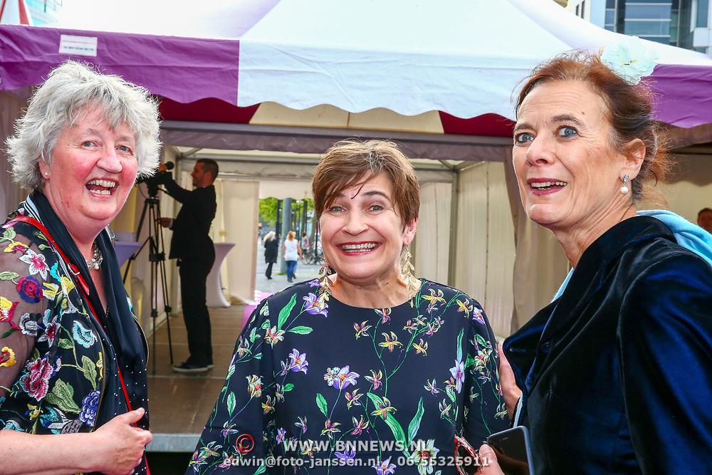 NLD/Amsterdam/20180616 - 26ste AmsterdamDiner 2018, Lilian Ploumen