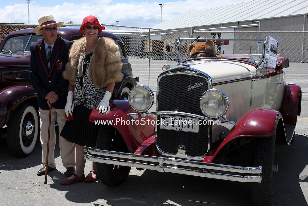 Vintage car show,  Napier, New Zealand 1929 DeSoto