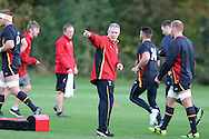 Robert Howley, the Wales coach © in action. Wales rugby team training at the Vale Resort, Hensol, Vale of Glamorgan, in South Wales on Thursday 3rd November 2016, the team are preparing for their match against Australia this weekend. pic by Andrew Orchard, Andrew Orchard sports photography