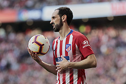 March 9, 2019 - Madrid, Madrid, Spain - Atletico de Madrid's Juanfran Torres during La Liga match between Atletico de Madrid and CD Leganes at Wanda Metropolitano stadium in Madrid. (Credit Image: © Legan P. Mace/SOPA Images via ZUMA Wire)