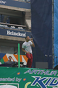 Mateo performs at the 2009 Arthur Ashe Kids' Day held at The USTA Billie Jean King National Tennis Center on August 29, 2009 in Flushing, NY