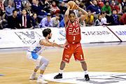 DESCRIZIONE : Milano Lega A 2014-15  EA7 Emporio Armani Milano vs Vagoli Basket Cremona<br /> GIOCATORE : Joe Ragland<br /> CATEGORIA : Passaggio<br /> SQUADRA : EA7 Emporio Armani Milano<br /> EVENTO : Campionato Lega A 2014-2015<br /> GARA : EA7 Emporio Armani Milano vs Vagoli Basket Cremona<br /> DATA : 25/01/2015<br /> SPORT : Pallacanestro <br /> AUTORE : Agenzia Ciamillo-Castoria/I.Mancini<br /> Galleria : Lega Basket A 2014-2015  <br /> Fotonotizia : Cantù Lega A 2014-2015 Pallacanestro : EA7 Emporio Armani Milano vs Vagoli Basket Cremona<br /> Predefinita :