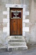 Office of the winemaker, Chateau de Sancerre, Marnier Lapostolle. Sancerre village, Loire, France