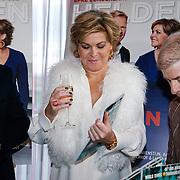 NLD/Ridderkerk/20121120 - Lancering Helden magazine nr.16, Ronald Koeman en partner Bartina Borderveld en Frits Barend