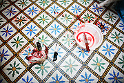 Marrakech, Maroc. 21 Decembre 2007..Aid El Kebir est une des fetes les plus importantes de l'Islam. ..Marrakesh, Morocco. December 21st 2007..The sheep's head. Eid Al-Adha is one of the most important celebrations in the Islam traditions.