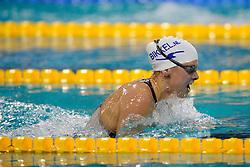 06-12-2008 ZWEMMEN: SWIMCUP: EINDHOVEN<br /> Lia Dekker heeft bij de Swim Cup in Eindhoven het twintig jaar oude Nederlands record op de 200 meter schoolslag verbeterd. <br /> ©2008-WWW.FOTOHOOGENDOORN.NL