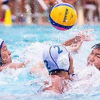 PESEB, Tuesday, March 24, 2015 — Strong defensive play by Anglo-Chinese School (Barker Road) propelled them to a 7–3 victory over Hwa Chong Institution (HCI) in the final of the National B Division Water Polo Championship, earning them their first title since 2009.<br /> <br /> https://www.redsports.sg/2015/03/24/national-bdiv-water-polo-final-acsbr-hci/