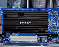 Synology DS-3617xs Dual 10GB RJ54 network card. Image taken with a Fuji X-T3 camera and 80 mm f/2.8 macro lens