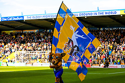 A general view of the One Call Stadium, home to Mansfield Town - Mandatory by-line: Ryan Crockett/JMP - 12/05/2019 - FOOTBALL - One Call Stadium - Mansfield, England - Mansfield Town v Newport County - Sky Bet League Two Play-Off Semi-Final 2nd Leg