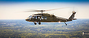 """South Carolina Army National Guard UH-60 """"Blackhawk"""" helicopter, photographed near Conyers, Ga."""