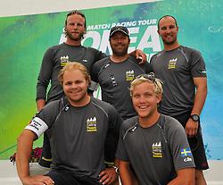 Bjorn Hansen (Sweden) and the Mekonomen Sailing Team. Photo:Chris Davies/WMRT