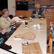 Handwerk en naai clubje in het Dienstencentrum Huizen