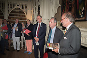 MICHAEL SNODIN; STEPHEN CLARKE; DAVID CAMPBELL, Rception l to celebrate the publication of an Everyman's Library edition of Horace Walpole's Letters – one of the finest series of letters in the English language. Monday 12 June fStrawberry Hill, 268 Waldegrave Road, Twickenham, LONDON.
