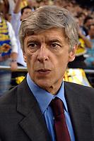 Villarreal vs Arsenal Champios league semifinals match at Villarreal the Arsenal pass to the final.-  Arsenal coach Arsene Wenger