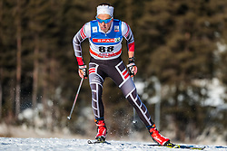 27.01.2018, Nordic Arena, Seefeld, AUT, FIS Weltcup Langlauf, Seefeld, Langlauf, Herren, im Bild Simon Kugler (AUT) // Simon Kugler of Austria // during Mens Cross Country Race of the FIS World Cup at the Nordic Arena in Seefeld, Austria on 2018/01/27. EXPA Pictures © 2018, PhotoCredit: EXPA/ JFK