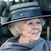 NLD/Hilversum/20181212 - Beatrix onthult nieuwe naam van Sensoor, Prinses Beatrix