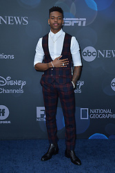 May 14, 2019 - New York, NY, USA - May 14, 2019  New York City..Aubrey Joseph attending Walt Disney Television Upfront presentation party arrivals at Tavern on the Green on May 14, 2019 in New York City. (Credit Image: © Kristin Callahan/Ace Pictures via ZUMA Press)