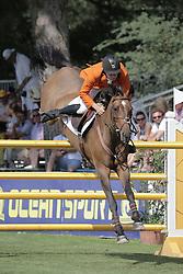Van den Brink Dennis (NED) - Royal Dream<br /> FEI European Jumping Championship for young riders <br /> Arezzo 2014<br /> © Hippo Foto - Stefano Secchi