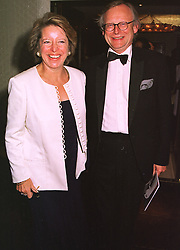 MR & MRS JOHN GUMMER MP he is the former Conservative government minister, at a film premier on 26th August 1998.MJL 95