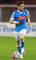 Dries Mertens Napoli,  <br /> Napoli 20-03-2016 Stadio San Paolo<br /> Football Calcio Serie A 2015/2016 Napoli - Genoa<br /> Foto Cesare Purini / Insidefoto